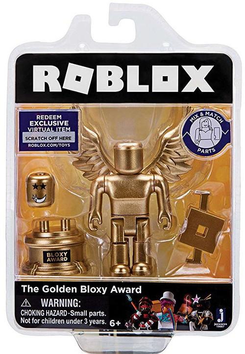 Roblox The Golden Bloxy Award 3 Action Figure Jazwares ...