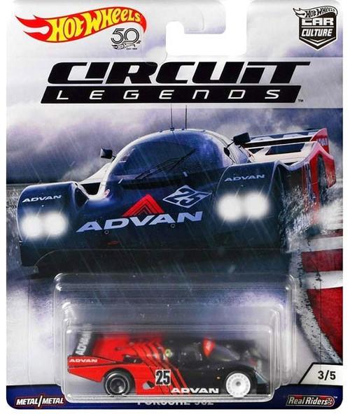 Hot Wheels Circuit Legends Porsche 962 Diecast Car 35