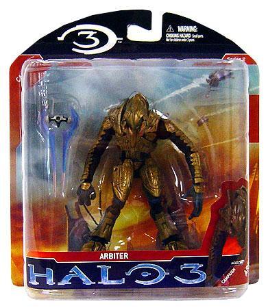 Mcfarlane Toys Halo 3 Series 2 Arbiter Action Figure [Gold]