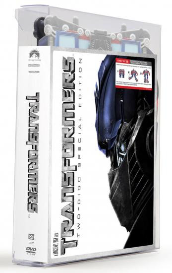 "Paramount Transformers Movie Special Edition Exclusive 15-Inch 15"" DVD"
