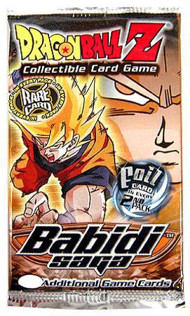 Score Dragon Ball Z Collectible Card Game Babidi Saga Boo...