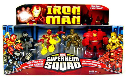Hasbro Iron Man Movie Superhero Squad Genius of Tony Star...