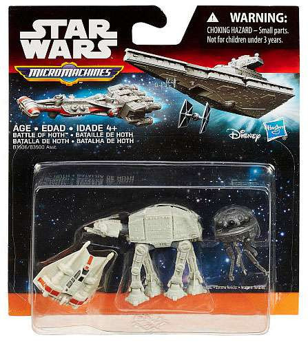 Hasbro Star Wars The Force Awakens Micro Machines Battle ...