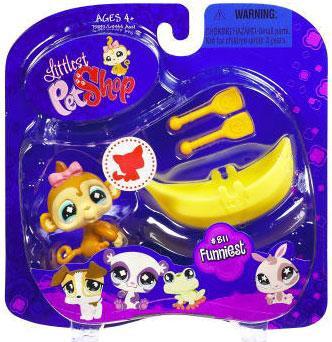 Hasbro Littlest Pet Shop 2009 Assortment A Series 2 Monke...