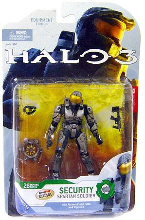 Mcfarlane Toys Halo 3 Series 4 Spartan Soldier Security E...