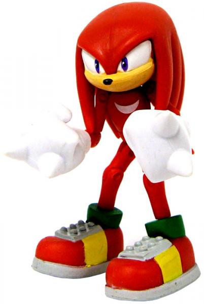 Sonic The Hedgehog Knuckles the Echidna 3.5 Action Figure Loose Jazwares - ToyWiz