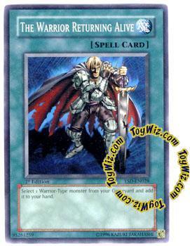 Konami YuGiOh GX 2006 Starter Deck Common The Warrior Ret...