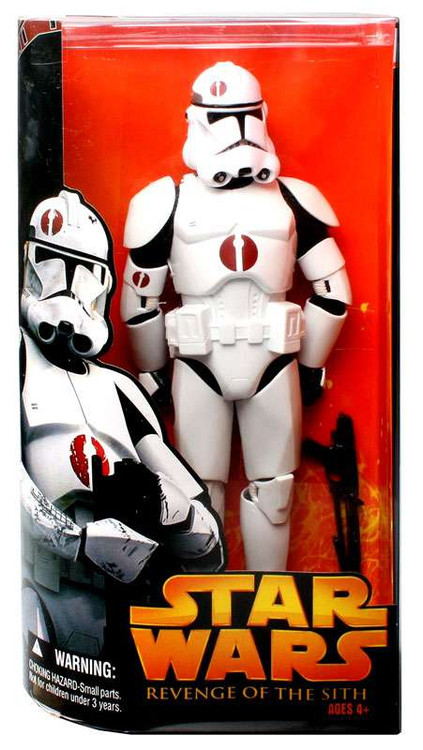 Hasbro Star Wars Revenge of the Sith Clone Trooper Action...