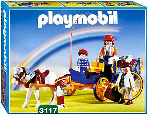 Playmobil Special Horse & Buggy Set #3117 [Damaged Package]