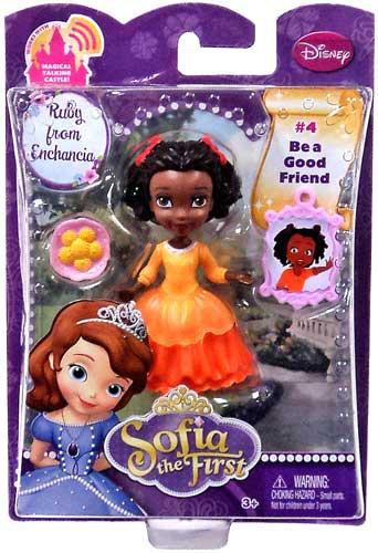 Mattel Disney Sofia the First Ruby from Enchancia 3-Inch ...