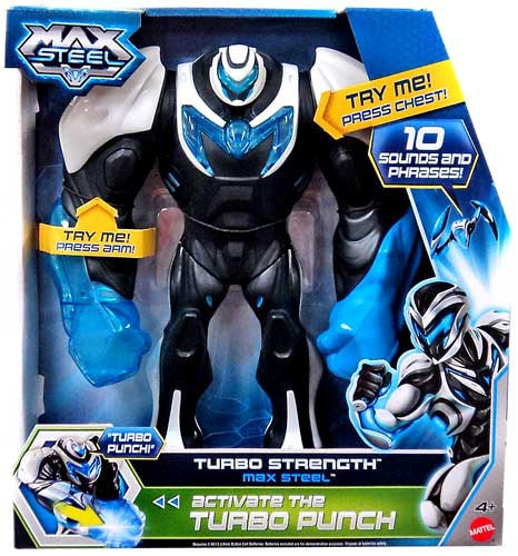 max steel max steel figure turbo strength mattel toys toywiz