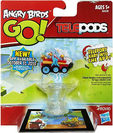 Angry Birds GO Telepods Kart Series 1 Blue Bird Figure ...  Angry Birds GO ...
