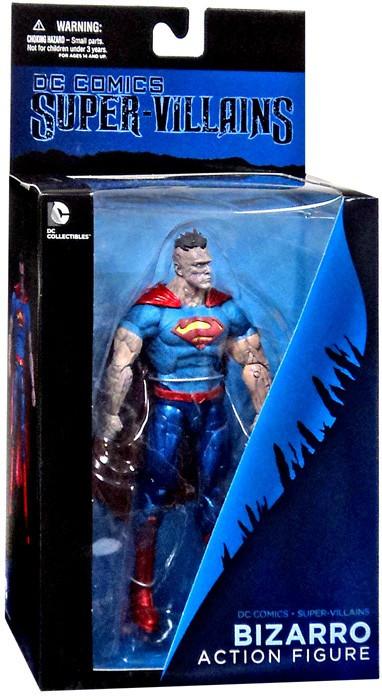 Dc Super Villains Bizarro 16 Action Figure Dc Collectibles