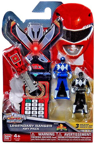 Power Rangers Super Megaforce Legendary Ranger Key Pack
