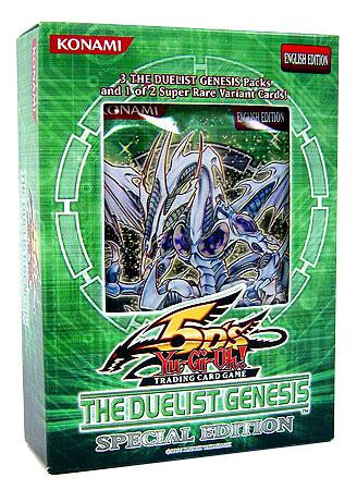 YuGiOh Duelist Genesis Special Edition Pack [3 Booster Pa...