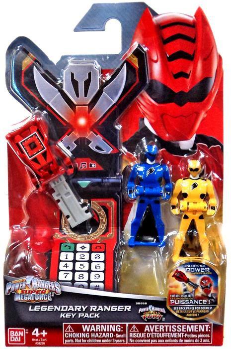 Power Rangers Super Megaforce Jungle Fury Legendary Ranger