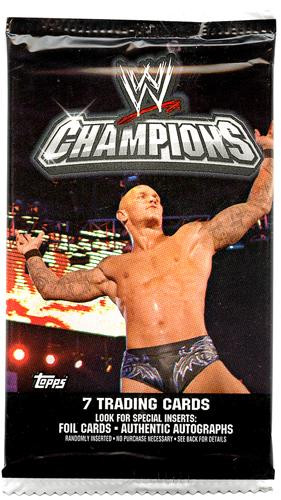 Wwe Wrestling 2011 Wwe Champions Trading Card Pack Topps