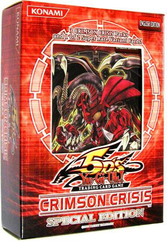 YuGiOh Crimson Crisis Special Edition Pack [3 Booster Pac...