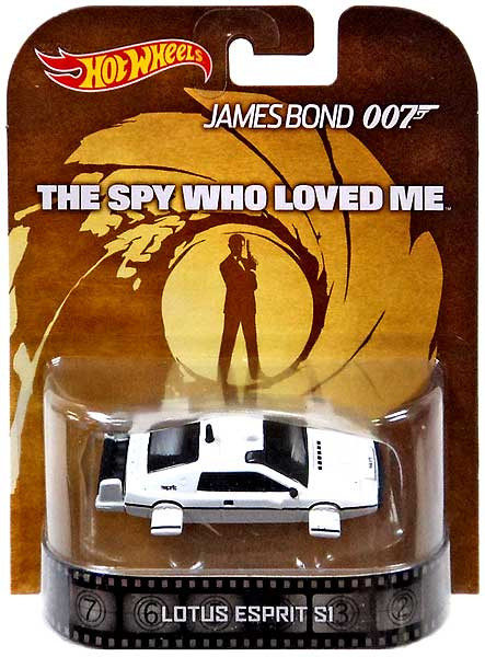 Mattel Hot Wheels James Bond HW Retro Entertainment Lotus...