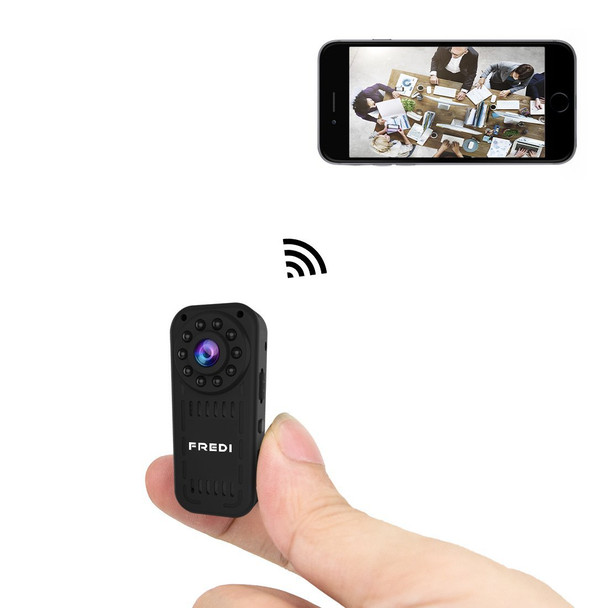 1080p HD mini wifi hidden spy camera wireless camera for iPhone/Android Phone/ iPad Remote View with Motion Detection