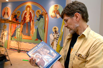 Iconographer Fr. Anthony Salzman
