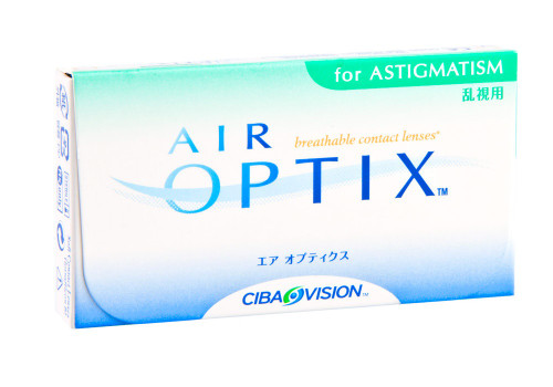Air Optix Aqua for Astigmatism - 3 Pack Front