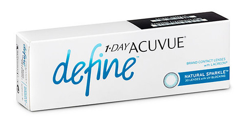 1-Day Acuvue Define - Natural Sparkle Front