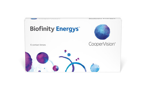 Biofinity Energys - 6 Pack Front