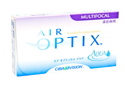 Air Optix Aqua Multifocal - 3 Pack Front