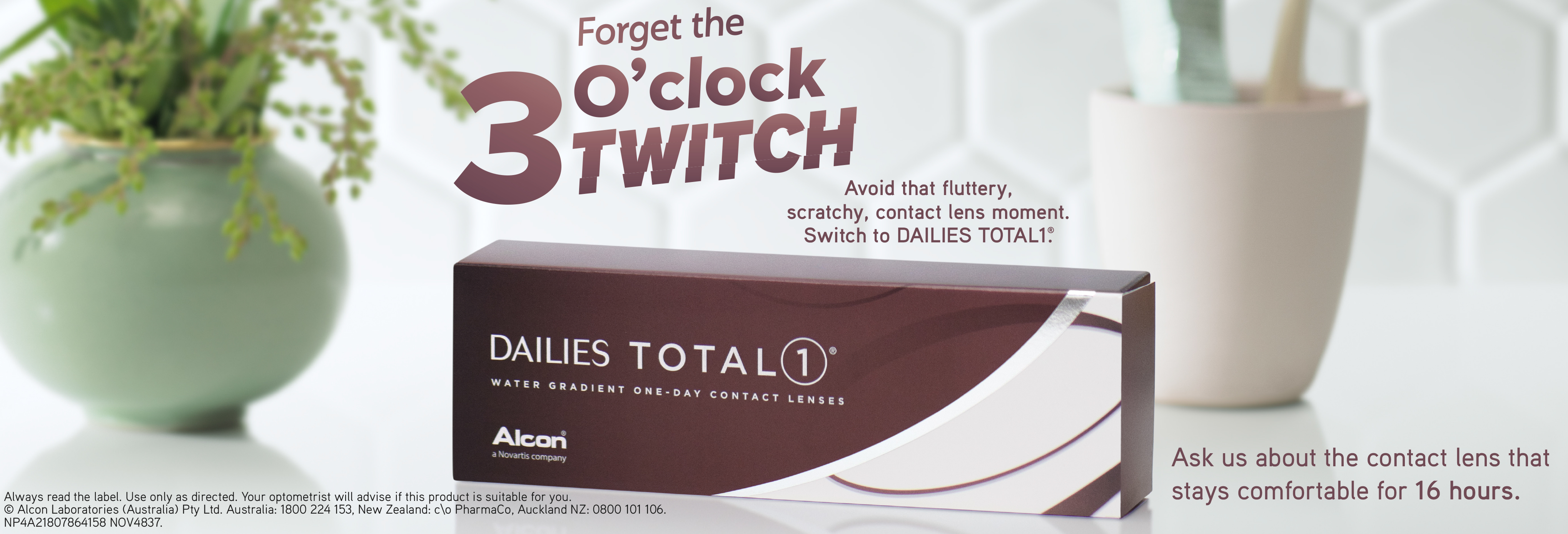#Forget the 3 O'clock Twitch