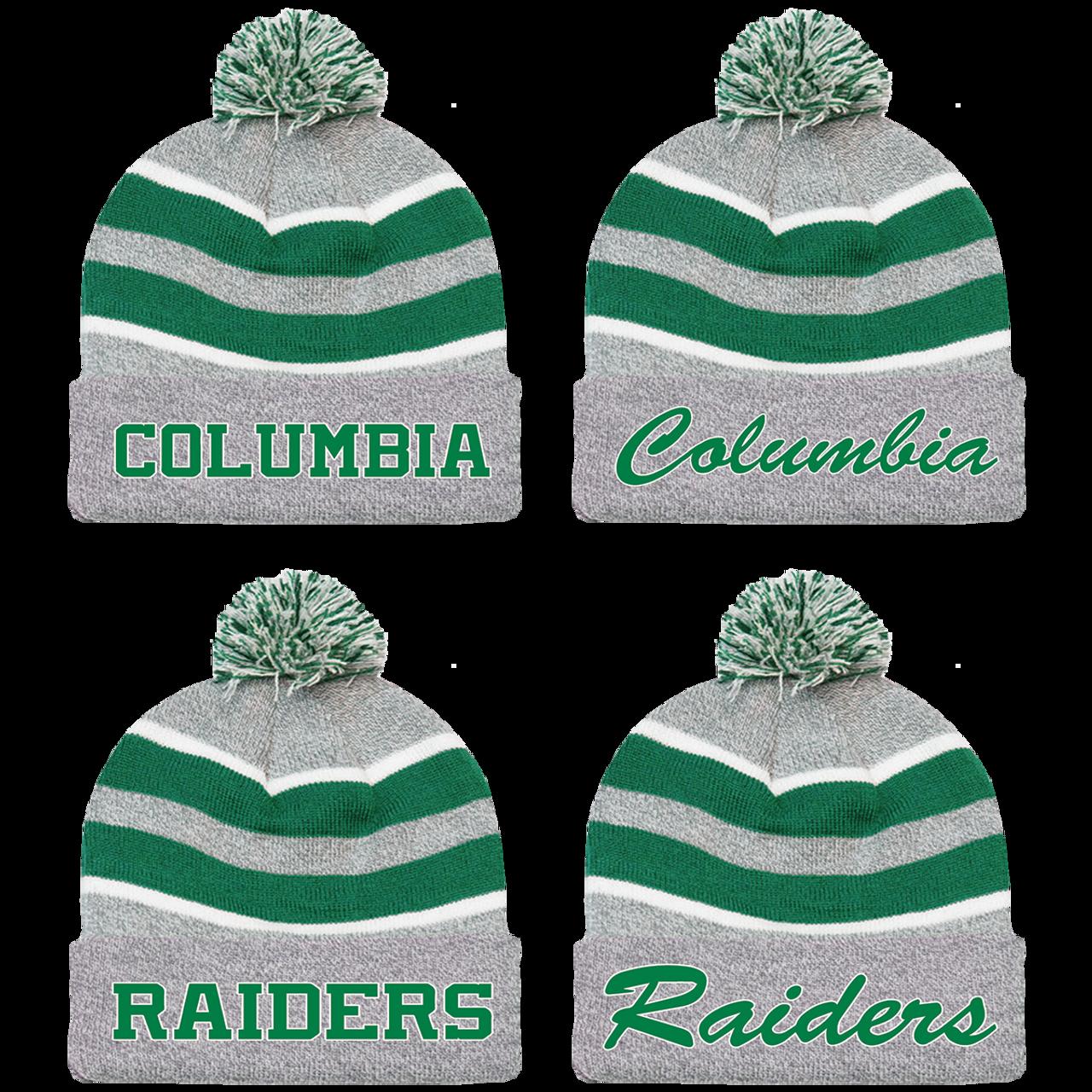 6701757cc4108 Columbia Raiders Beanie (RY201 RY203 RY205 RY207) - RycoSports