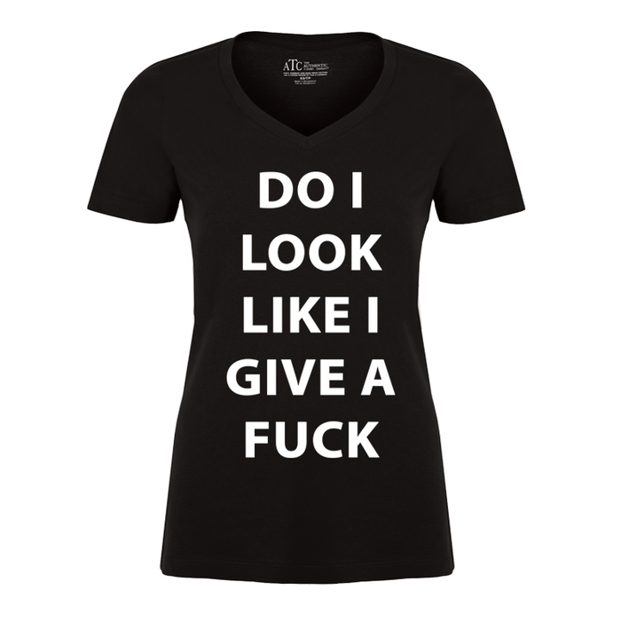 Women'S Do I Look Like I Give A Fuck - Tshirt