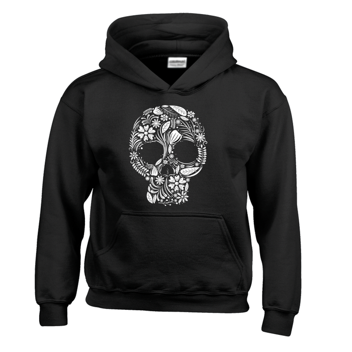 Kids Day Of The Dead Sugar Skull - Hoodie