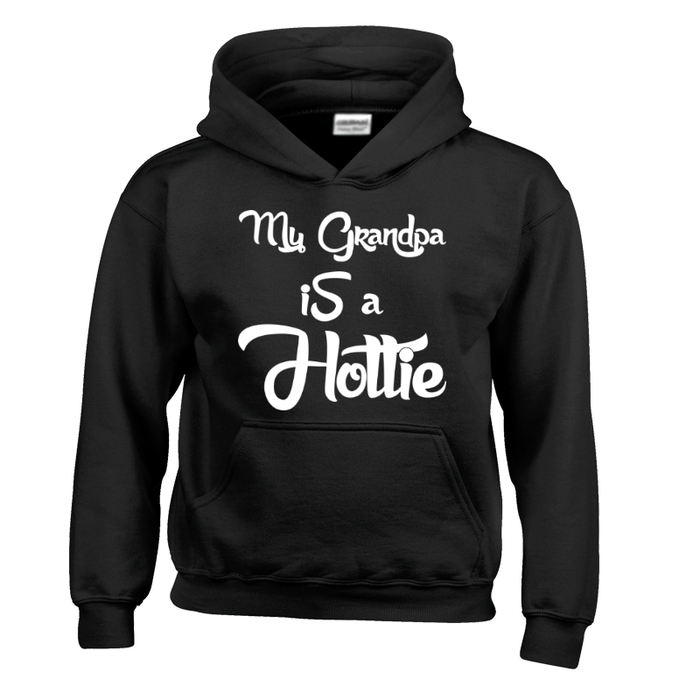 Kids My Grandpa Is A Hottie -Hoodie