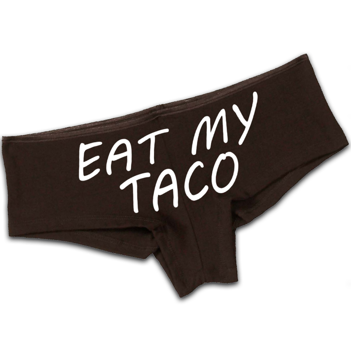 Women'S Eat My Taco - Booty Shorts
