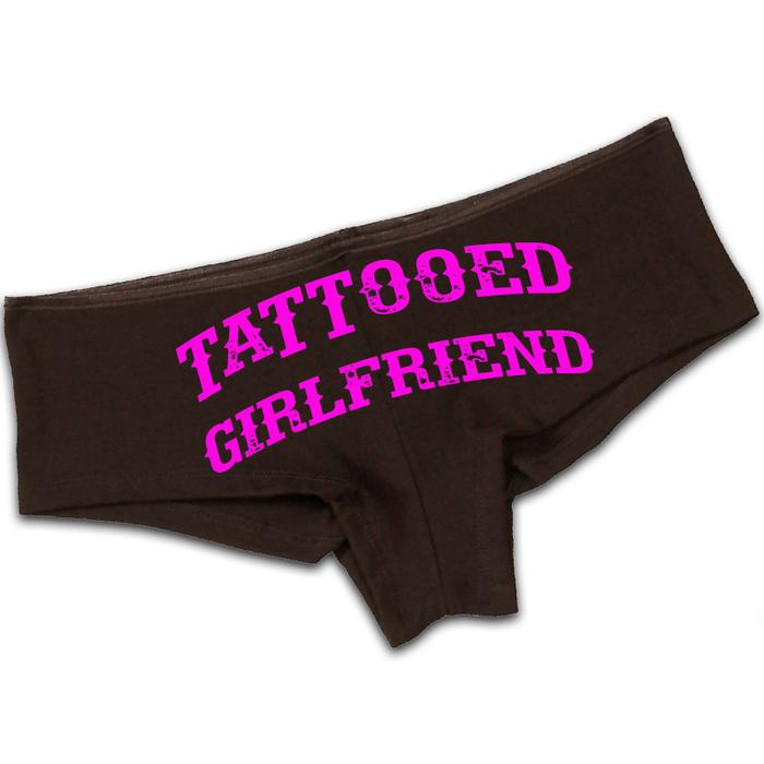 Women'S Tattooed Girlfriend - Booty Shorts