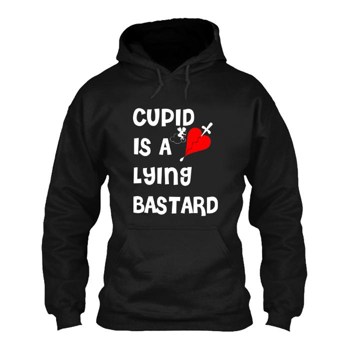 Women'S Cupid Is A Lying Bastard - Hoodie