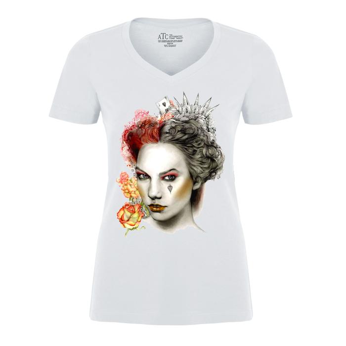 Women'S The Queen Of Hearts - Tshirt