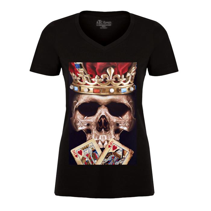 Women'S The Skull King - Tshirt