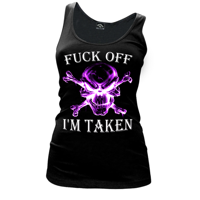 Women'S Fuck Off I'M Taken - Tank Top
