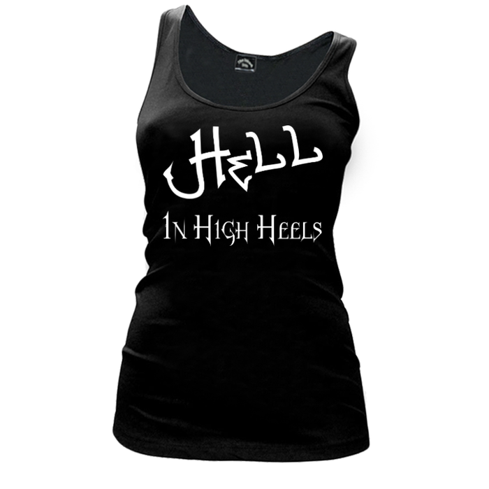 Women'S Hell In High Heels - Tank Top