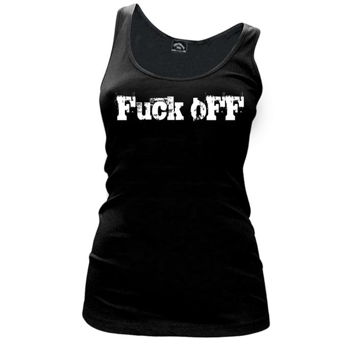 Women'S Fuck Off - Tank Top