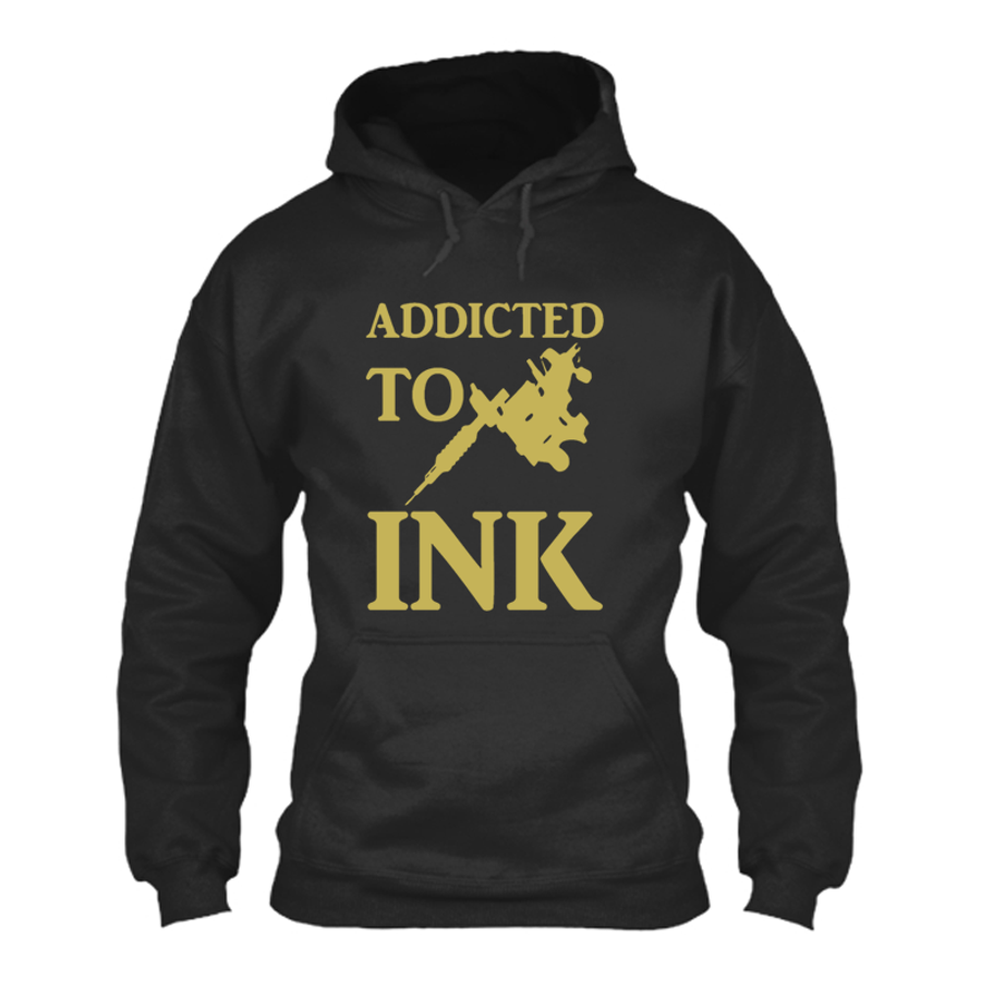 Women'S Addicted To Ink - Hoodie