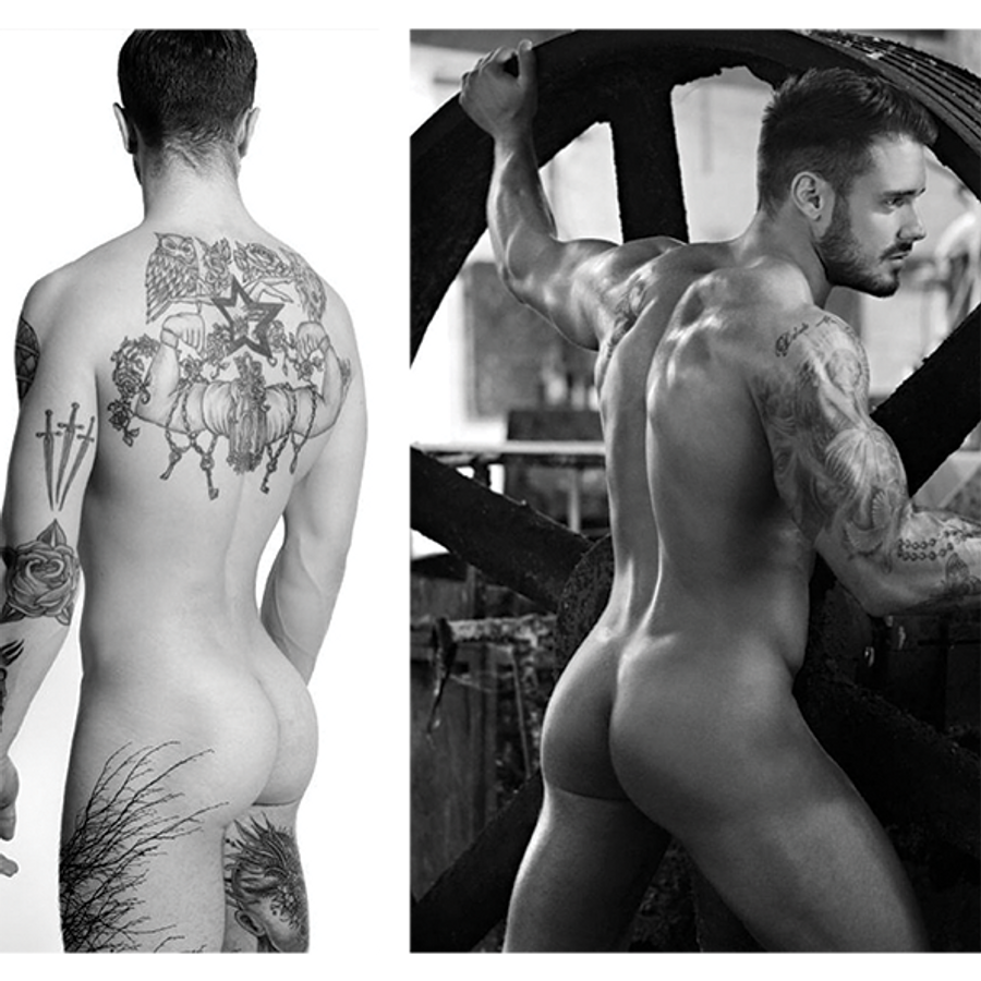 The Inked Boys Calendar 2018 + (Four Free Posters)