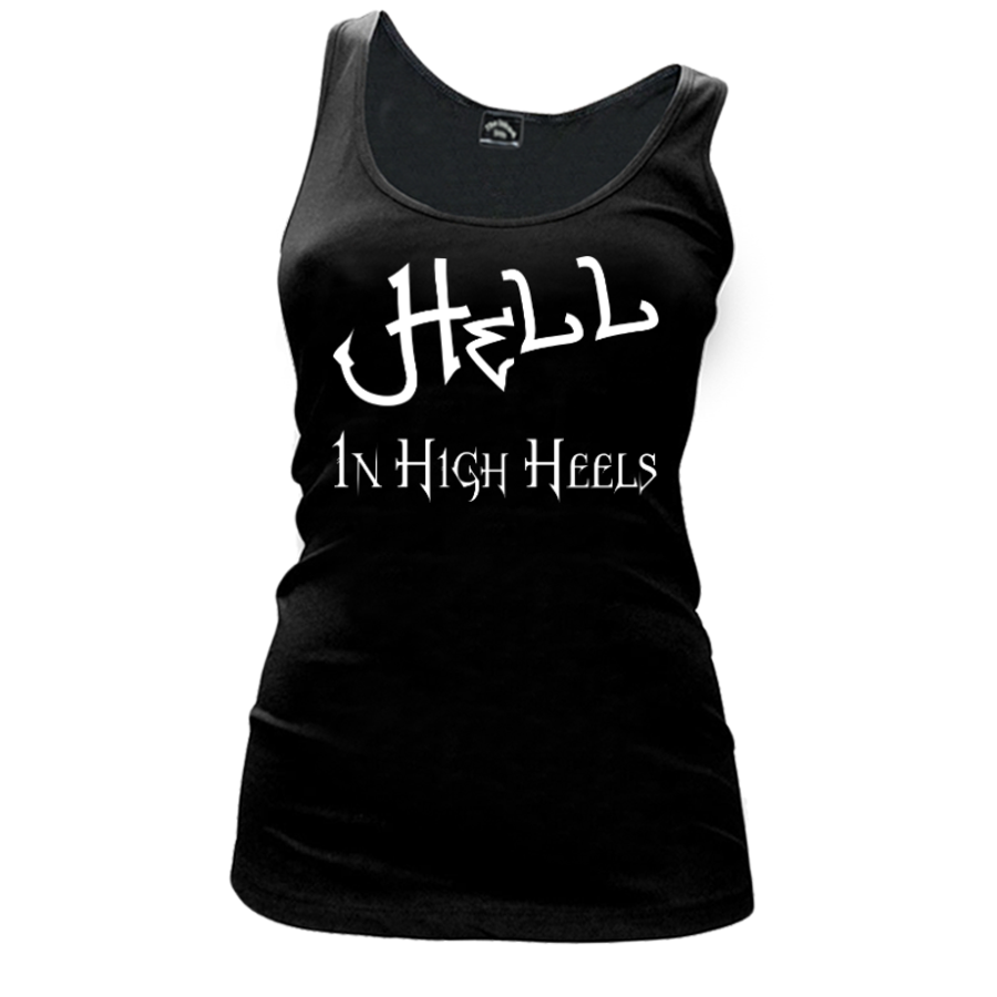 Women'S Hell In High Heels - Tank Top