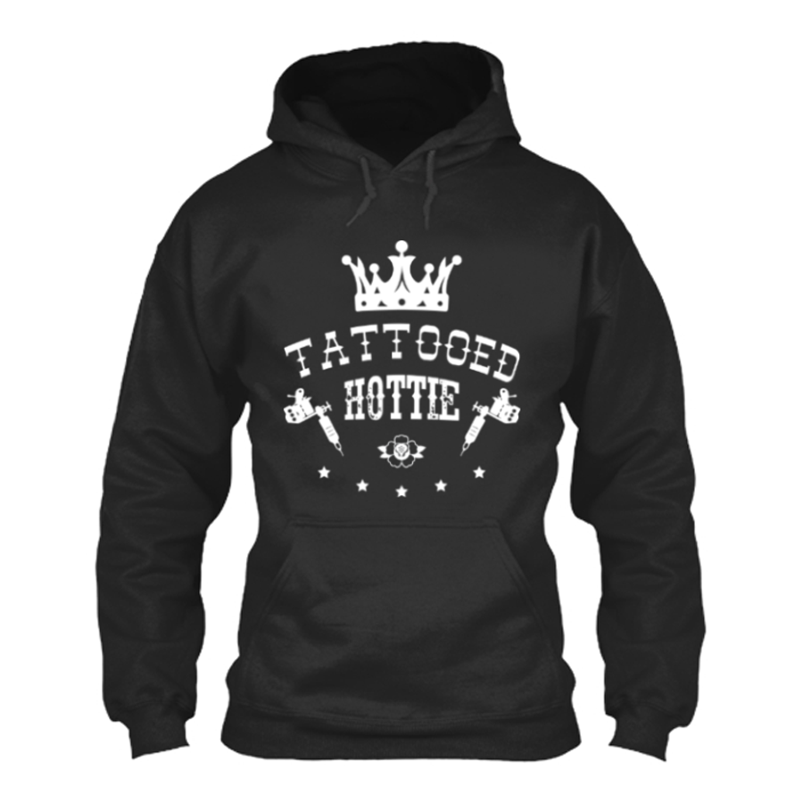 Women'S Tattooed Hottie - Hoodie