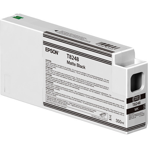 Epson T824800 UltraChrome HD Matte Black Ink Cartridge (350ml)