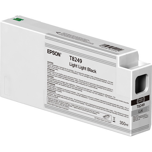 Epson T824900 UltraChrome HD Light Light Black Ink Cartridge (350ml)