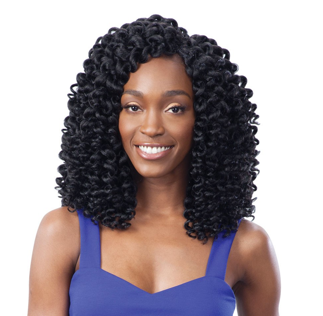 Shake N Go Freetress 2x Wand Curl Braid Collection Ringlet Wand