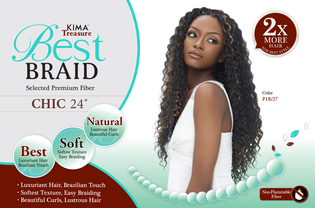 Harlem 125 Kima Treasure Best Braid Chic 24 Top Hair Wigs